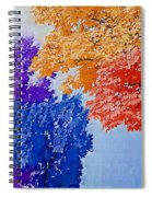 Nature In Its New Colors Spiral Notebook
