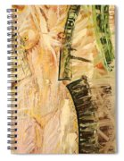 Nature In Nude Spiral Notebook