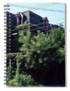 Nature Reclaims Spiral Notebook