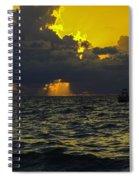 Natures Battle Spiral Notebook
