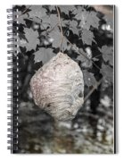 Natures Bee Hive Spiral Notebook