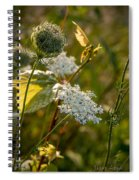 Natures Bouquet Spiral Notebook