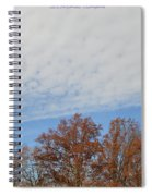 Nature's Brush Strokes Spiral Notebook