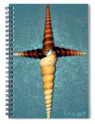 Natures Cross Spiral Notebook