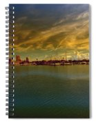 Natures Dramatic Skies  Spiral Notebook