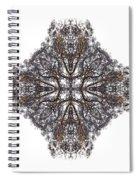 Nature's Filigree Spiral Notebook