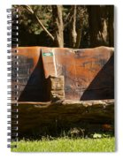 Natures Lounge Spiral Notebook