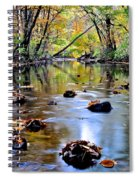 Natures Mood Lighting Spiral Notebook
