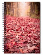 Nature's Red Carpet Revisited Spiral Notebook