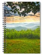 Nature's Theater Spiral Notebook