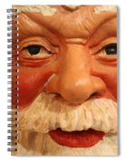 Naughty Or Nice Spiral Notebook