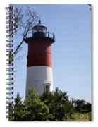 Nauset Light - Cape Cod -  Ma Spiral Notebook