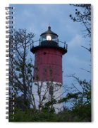 Nauset Lighthouse Amid The Scrub Pines Spiral Notebook