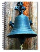 Nautical Bell Spiral Notebook