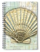 Nautical Journey-f Spiral Notebook