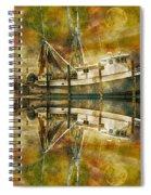 Nautical Timepiece Spiral Notebook