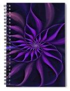 Nautilus Fractalus Moongarden Spiral Notebook
