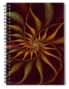Nautilus Fractalus Tropical Spiral Notebook
