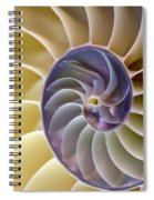 Nautilus Side View Spiral Notebook