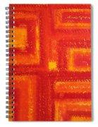 Navajo Rug Original Painting Spiral Notebook