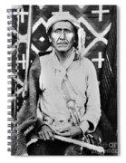 Navajo Shaman, C1880 Spiral Notebook