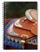 Navajo Silver And Basketweave Spiral Notebook