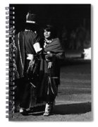 Navajo's Dance  Night Fire Rodeo Grounds Inter-tribal Indian Rodeo Gallup New Mexico 1969 Spiral Notebook