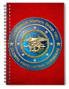Naval Special Warfare Group Two - N S W G-2 - On Red Spiral Notebook