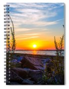 Navarre Fl Sunset 2014 07 29 A Spiral Notebook