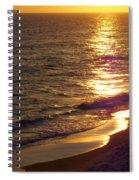 Navarre Sunset Surf Spiral Notebook