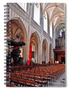 Nave Of The Church Of Our Lady Spiral Notebook