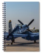 Navy Corsair Spiral Notebook