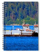 Navy Cover Spiral Notebook