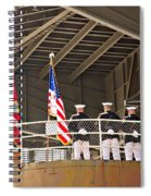 Navy Men Spiral Notebook