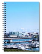 Navy Pier Chicago Il Looking Northeast Spiral Notebook
