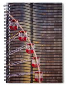 Navy Pier Wheel Chicago Spiral Notebook