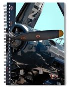 Navy Props Spiral Notebook