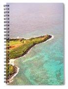 Nawiliwili Lighthouse - Aerial Spiral Notebook