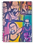 Nba Nuthin' But Africans Spiral Notebook