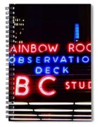 Nbc Studios Spiral Notebook