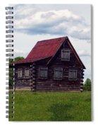 Nc Log Home 2 Spiral Notebook