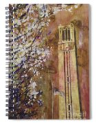 Ncsu Bell Tower Spiral Notebook