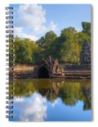 Neak Poan Temple Spiral Notebook