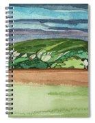 Near Dervaig, 2000 Wc On Paper Spiral Notebook