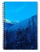 Near Fernie British Columbia  Spiral Notebook