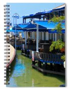 Near The Harbour Spiral Notebook