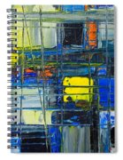 Near The Sunrise - Abstract Original Painting - Abwgc1 Spiral Notebook