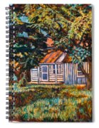 Near The Tech Duck Pond Spiral Notebook
