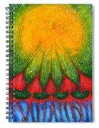 Nearer Sun Spiral Notebook
