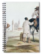 Nebel Mexican Peddlers Spiral Notebook